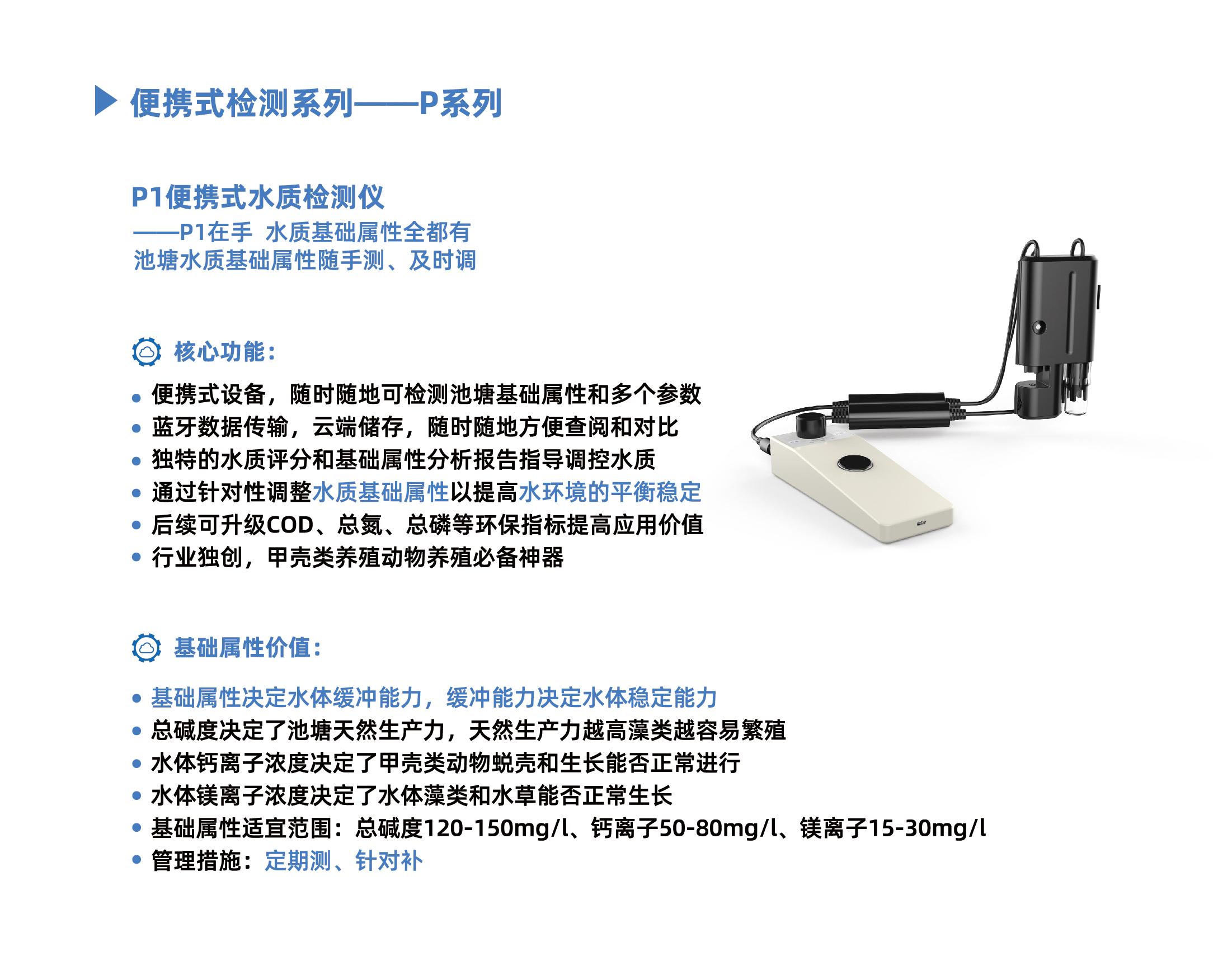 P1便携式水质检测仪